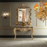 Meja Rias Baroque Luxury