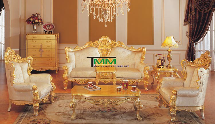 Kursi Tamu European Luxury Gold, European, Luxury, Furniture, Hand, carved, Wood, Italian, Luxury, Fabric, Slipcover, Sofa, Chairs, And Even Afew Whole, Furniture Jepara