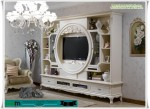 French Buffet TV Minimalis White Duco